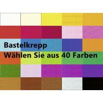 Ursus Bastelkrepp 250 x 50 cm gerollt, Krepp-Papier *...