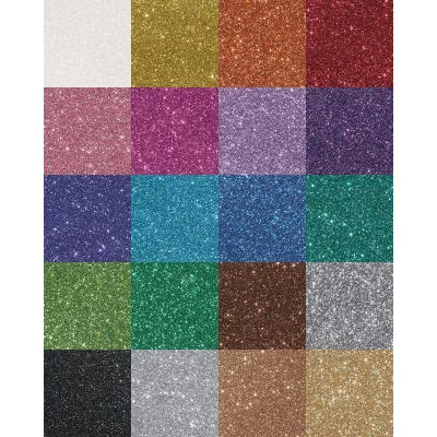 Efco Glitterkarton Glitzerpapier Basteln A4, 200 g/m²  * Auswahl