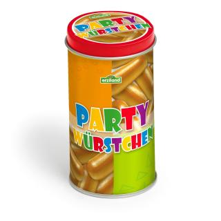 Erzi 15150 - Partywürstchen in der Dose Kaufladenzubehör
