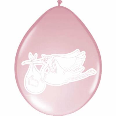 Baby - Luftballon rosa, 8 Stück