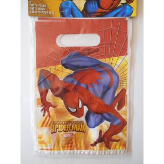 Spider-Men Sense Partytüten, 6 Stück