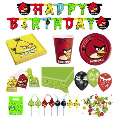 Angry Birds Party-Set (61-teilig)