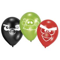 Angry Birds Luftballons, 6 Stück