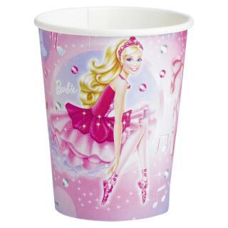 Barbie Pink Shoes Becher, 8 Stück