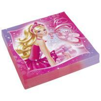 Barbie Pink Shoes Servietten, 20 Stück