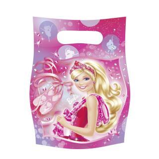 Barbie Pink Shoes Partytüten, 6 Stück