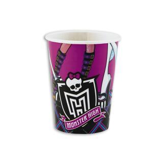 Monster High Becher, 8 Stück