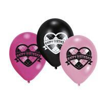 Monster High Luftballons, 6 Stück