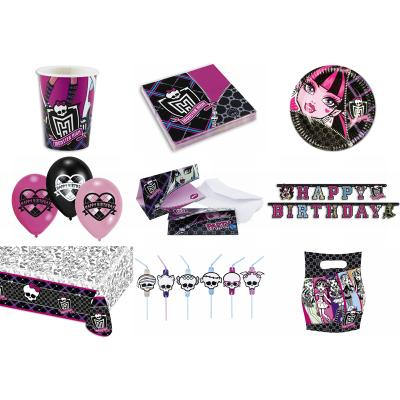 Monster High Party-Set (64-teilig)