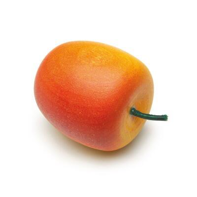 Erzi 11001 - Apfel, gelb-rot Kaufladenzubehör