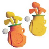 Radierer Golf-Set Tasche