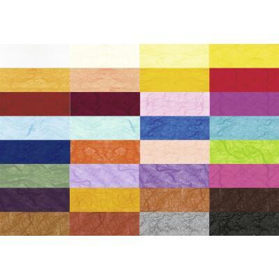 Ursus Strohseide 25 g/qm - 50 x 70 cm - gerollt auf Papphülse - Farbauswahl