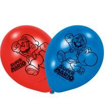 Super Mario  Luftballons, 6 Stück