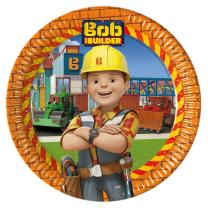 Bob der Baumeister - Teller - Pappteller, 8 Stück -...