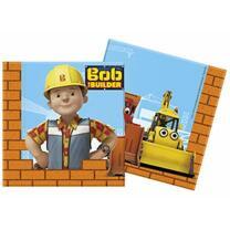 Bob der Baumeister - Servietten, 20 Stück 33 x 33 cm