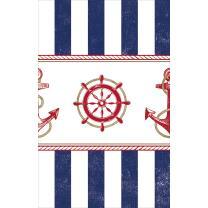 Tischdecke  maritim  Anker auf! Anchors Aweigh -  137 x...