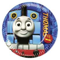 Thomas die Lokomotive Teller, 8 Stück
