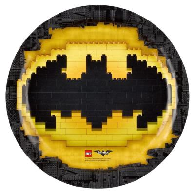 37-teiliges Party-Set Lego Batman - Teller Becher Servietten Tischdecke  für 8 Kinder