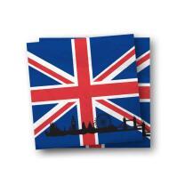 Großbritannien - England - Servietten, 20...