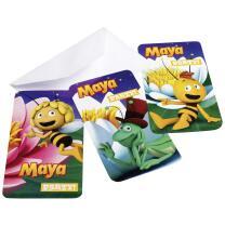 Biene Maja Einladungskarten, 6 Stück