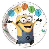 36-teiliges Party-Set Minions Balloons Party  - Teller...