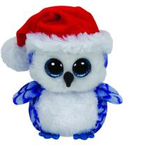 Ty Beanie Boos Eule Icicles X-Mas Weihnachten 15 cm