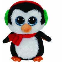 Ty Beanie Boos 41125 Pinguin North mit Schal Weihnachten...