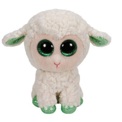 Ty Beanie Boos Schaf - Lamm LaLa mit grünen Hufen 15 cm