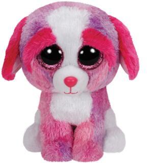 Ty Beanie Boos Sherbet - farbiger Hund 15 cm