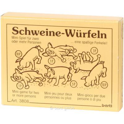 Mini-Spiel - Schweine-Würfeln