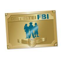Detektiv  Party - Platzsets, 6 Stück 38 x 27 cm