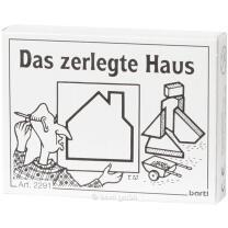 Mini-Puzzle - Das zerlegte Haus