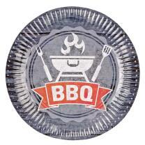 37-teiliges Party-Set BBQ - Grillparty - Teller Becher...
