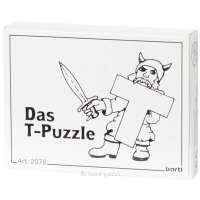 Mini-Puzzle - Das T-Puzzle