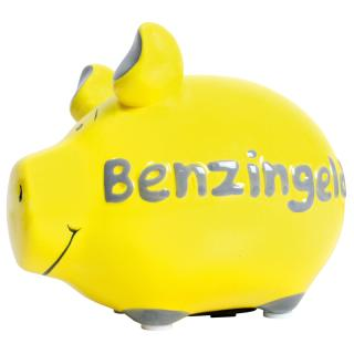KCG Kleinschwein Keramik Sparschwein - Benzingeld -  ca. 12 cm x 9 cm