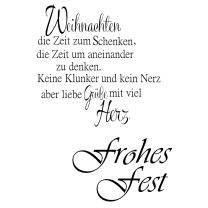 Efco (215) clear stamps Stempel Set - Frohes Fest -...