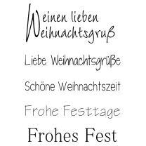 Efco (216) clear stamps Stempel Set - einen lieben...