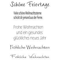 Efco (218) clear stamps Stempel Set - Schöne...