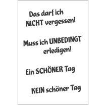 Efco (268) clear stamps Stempel Set - Das darf ich nicht...