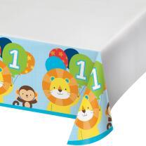 Mein 1. Geburtstag Junge  -  One is fun - Tischdecke 137...