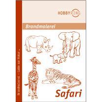 Brandmalerei Vorlagebogen Safari