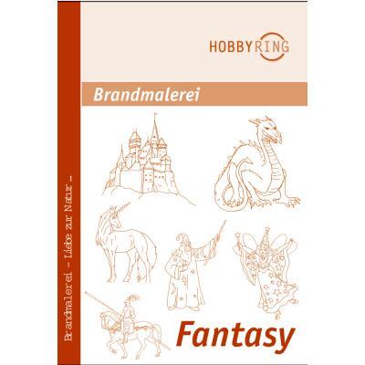 Brandmalerei Vorlagebogen Fantasy