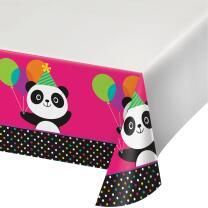 Panda Bär - Tischdecke 137 x 259 cm