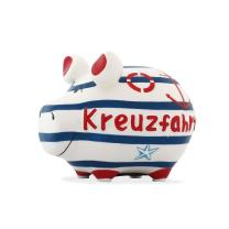 KCG Kleinschwein Keramik Sparschwein - Kreuzfahrt -  ca....