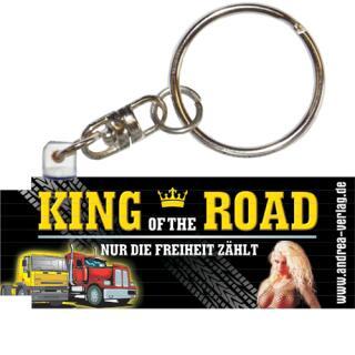 Mini - Zollstock 0,5 m - Schlüsselanhänger - King of the road