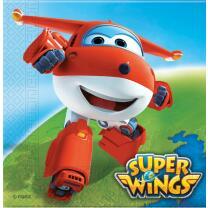 Super Wings Servietten, 20 Stück