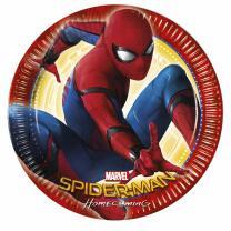 Spiderman Homecoming Teller - Pappteller. 23 cm, 8...
