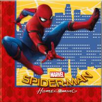 Spiderman Homecoming Servietten, 20 Stück