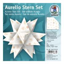 Aurelio Stern Set Faltblätter 14,8 x 14,8 cm -...