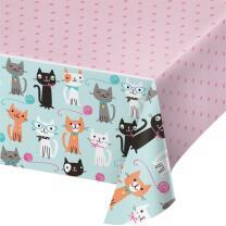 Katze - Kätzchen - Tischdecke 137 x 259 cm...
